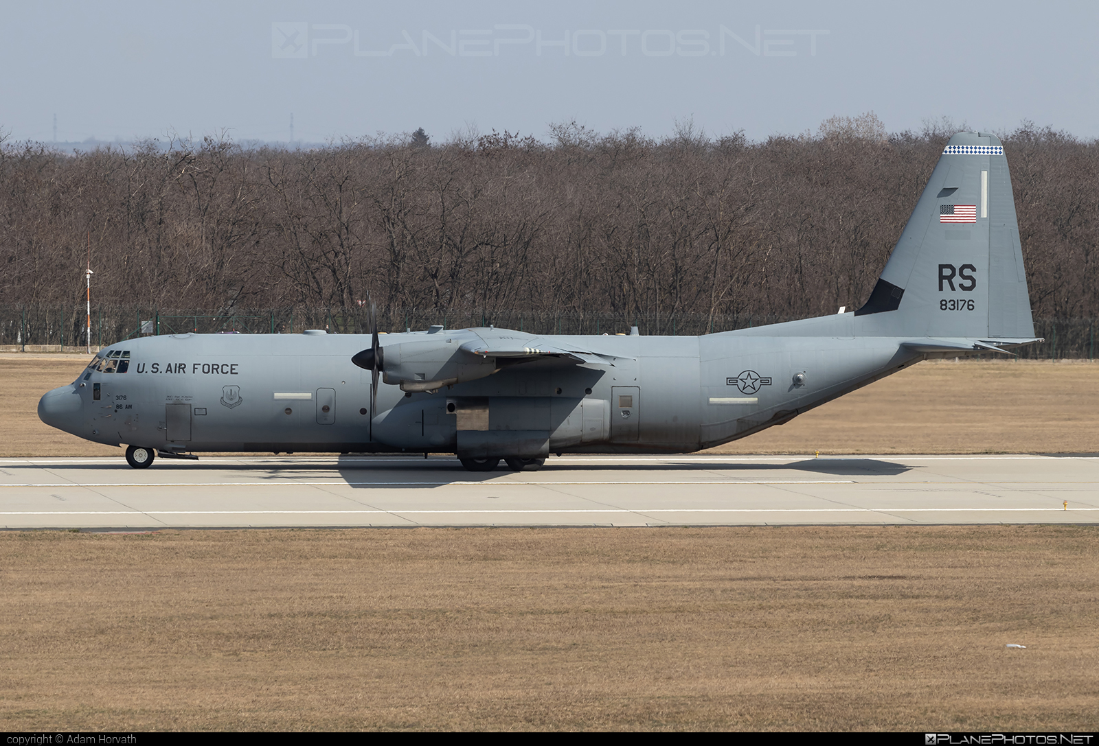 Lockheed Martin C-130J Super Hercules - 08-3176 operated by US Air Force (USAF) #LockheedMartin #c130 #c130j #superhercules #usaf #usairforce