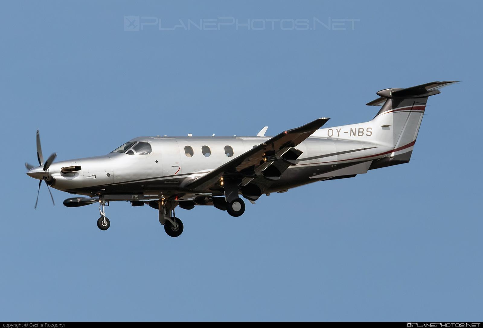 Pilatus PC-12/47E - OY-NBS operated by Private operator #pilatus