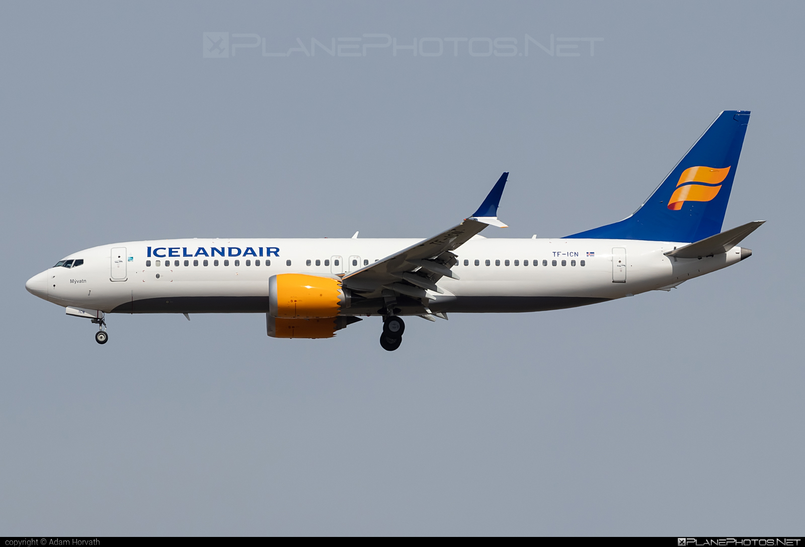 Boeing 737-8 MAX - TF-ICN operated by Icelandair #b737 #b737max #boeing #boeing737 #icelandair