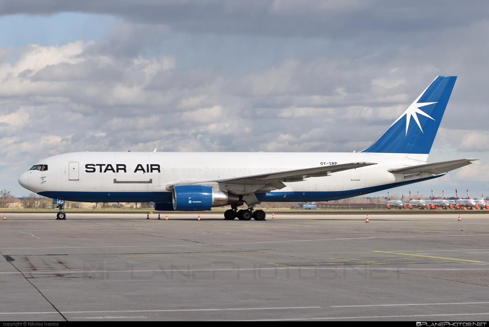 Boeing 767-200SF - OY-SRP operated by Star Air (SRR) #b767 #b767freighter #b767sf #boeing #boeing767 #starair #starairas