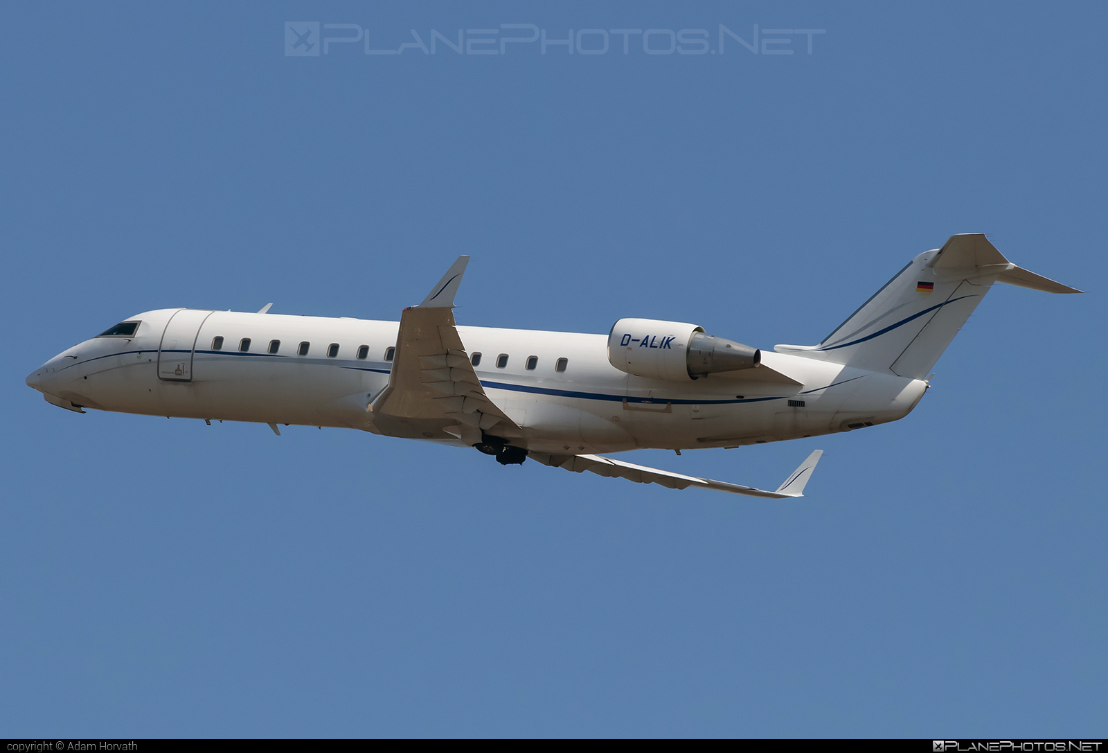 Bombardier Challenger 850 (CL-600-2B19) - D-ALIK operated by Private operator #bombardier #challenger850 #cl6002b19