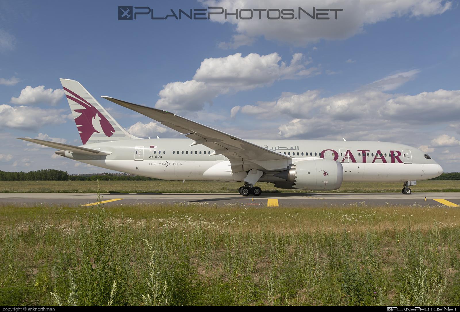 Boeing 787-8 Dreamliner - A7-BDB operated by Qatar Airways #b787 #boeing #boeing787 #dreamliner #qatarairways