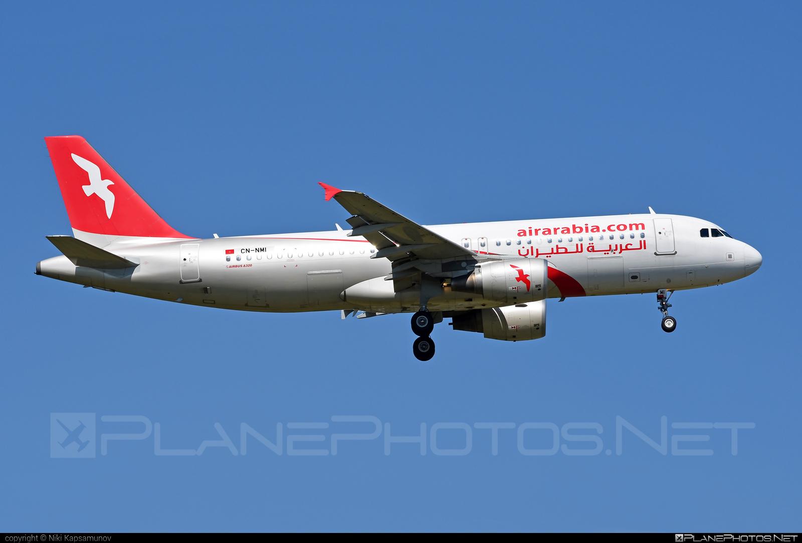 Airbus A320-214 - CN-NMI operated by Air Arabia Maroc #a320 #a320family #airarabia #airarabiamaroc #airbus #airbus320