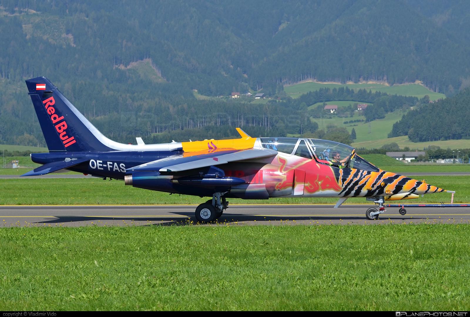 Dassault-Dornier Alpha Jet FB - OE-FAS operated by The Flying Bulls #alphajet #alphajetfb #dassaultdornier #theflyingbulls