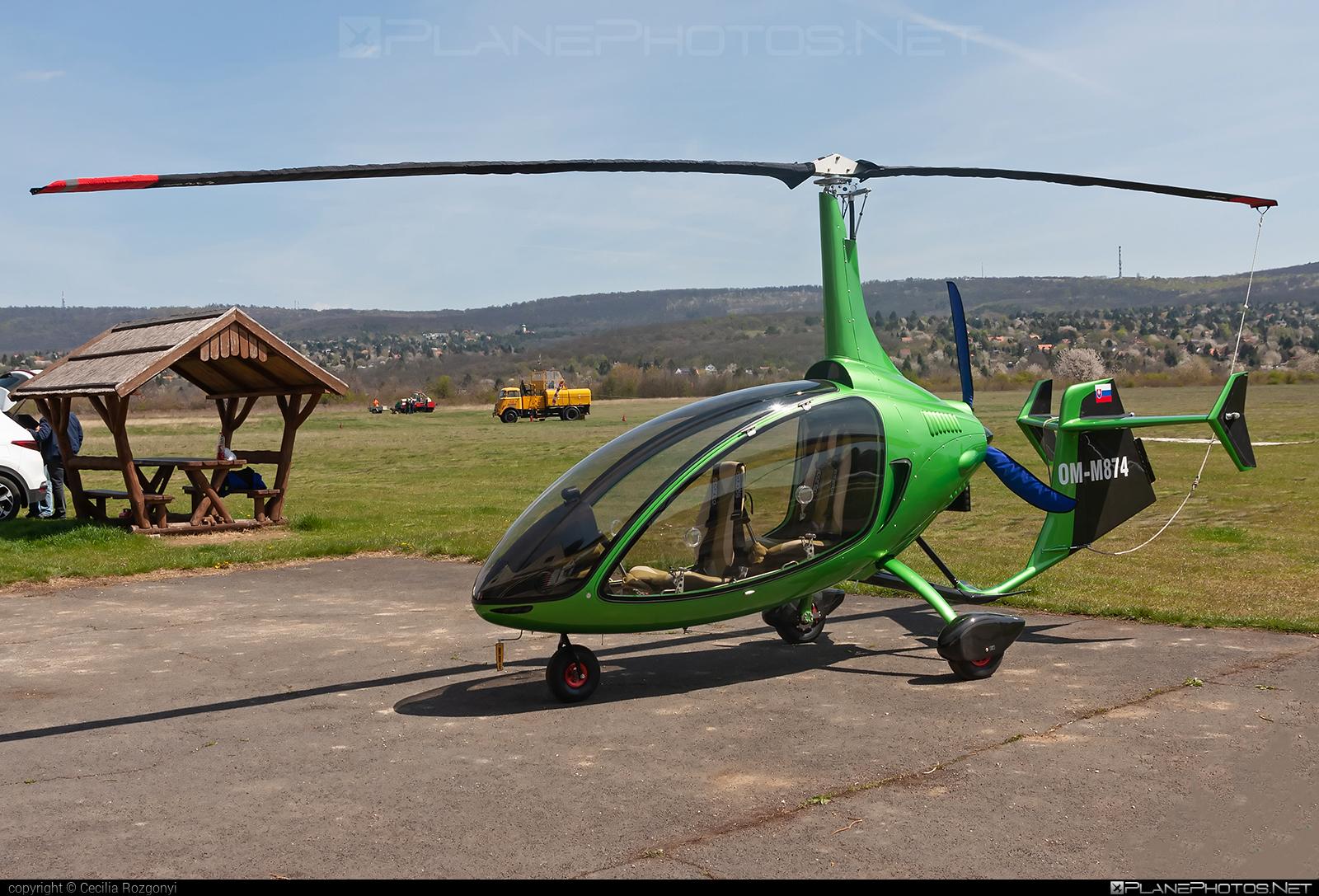 Niki Rotor Aviation Kallithea - OM-M874 operated by Private operator #KallitheaAutogyro #NikiRotorAviation #nra #nraKallithea