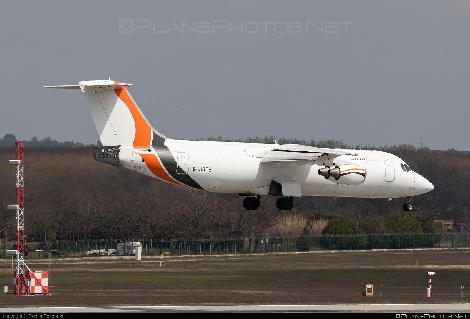 British Aerospace BAe 146-300QT - G-JOTE operated by Jota Aviation #bae146 #bae146300 #bae146300qt #bae146qt #britishaerospace #jumbolino