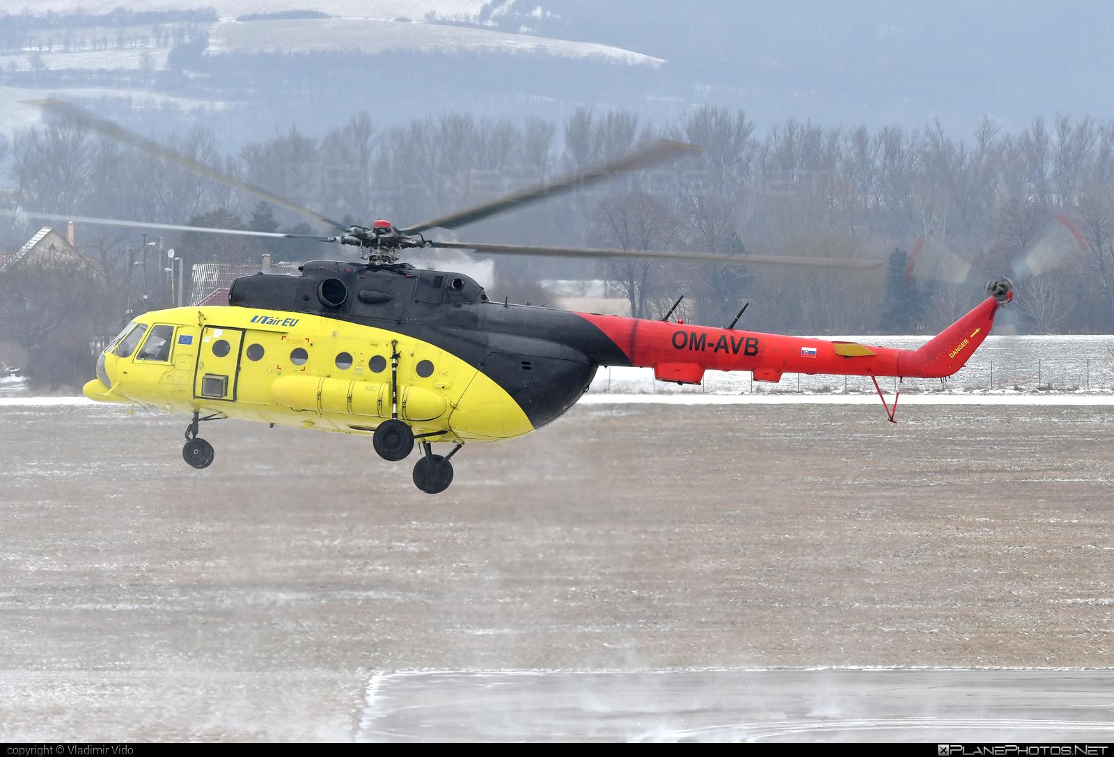 Mil Mi-8MTV-1 - OM-AVB operated by UTair Europe #mi8 #mi8mtv1 #mil #milhelicopters #milmi8 #milmi8mtv1 #utair #utaireurope