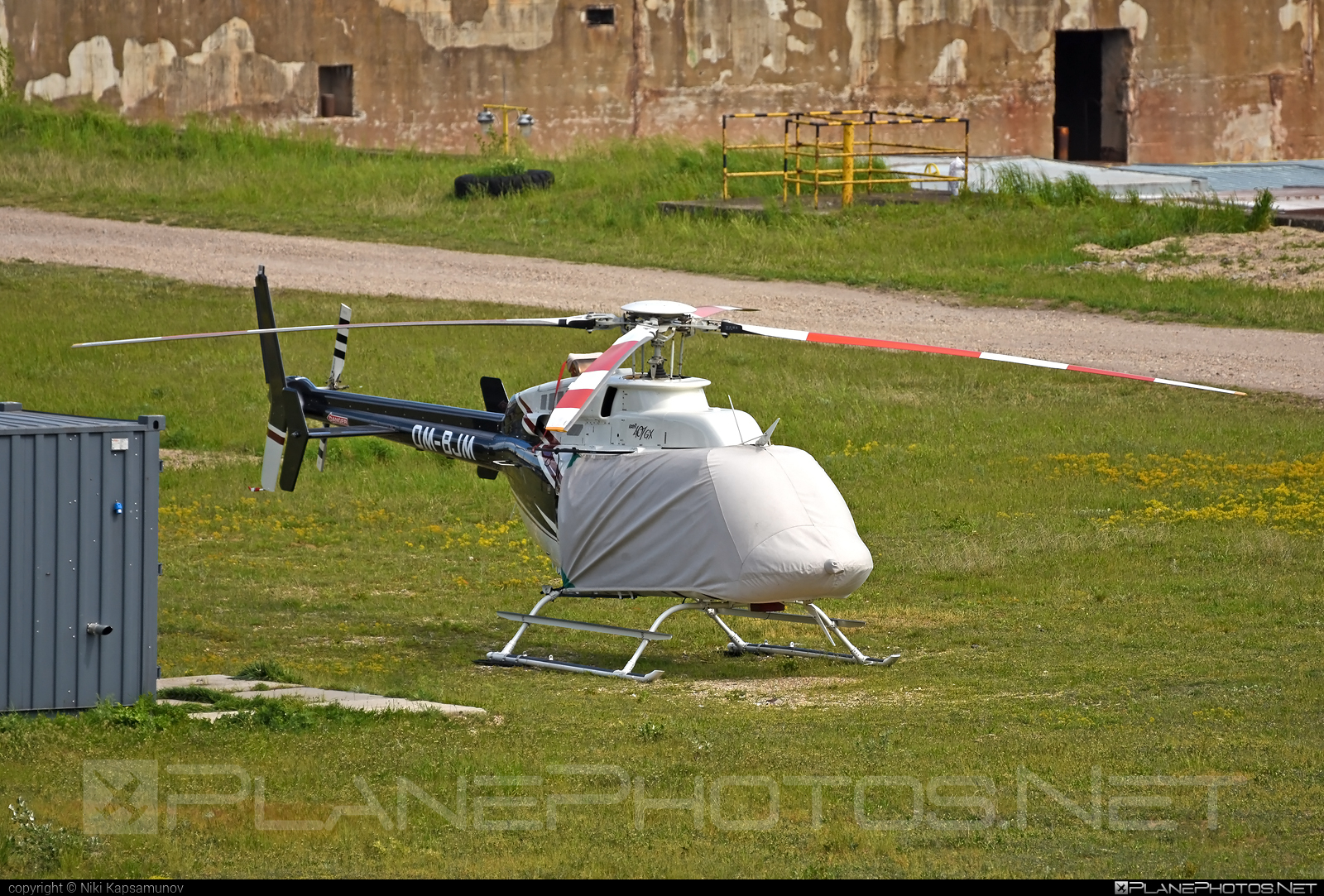 Bell 407GX - OM-BJM operated by TECH-MONT Helicopter company #bell #bellhelicopters