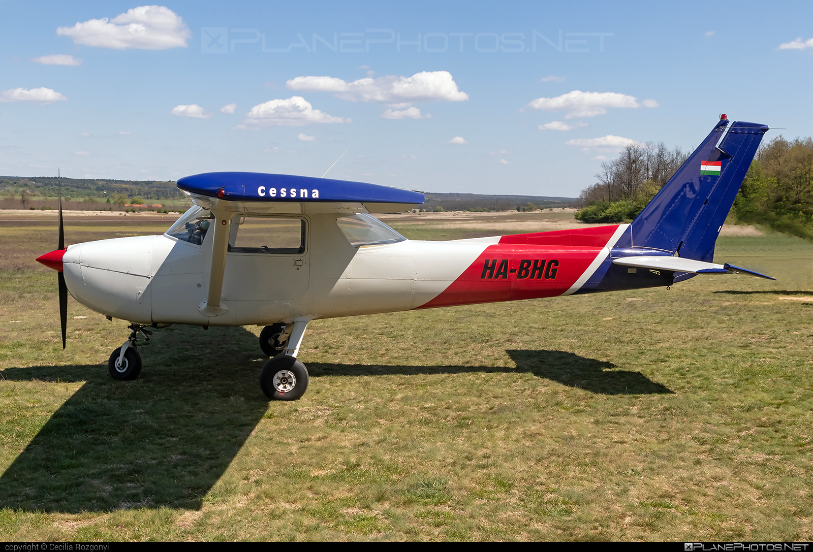 Cessna 152 - HA-BHG operated by Fly-Coop #cessna #cessna152 #flycoop
