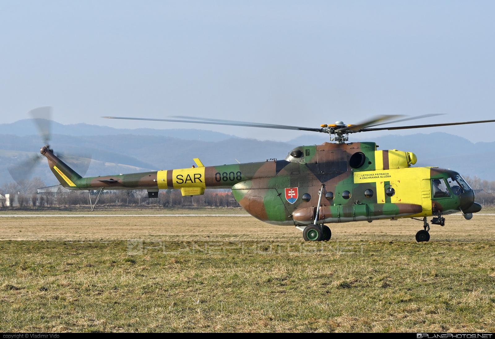 Mil Mi-17LPZS - 0808 operated by Vzdušné sily OS SR (Slovak Air Force) #mi17 #mi17lpzs #mil #milhelicopters #milmi17 #milmi17lpzs #slovakairforce #vzdusnesilyossr