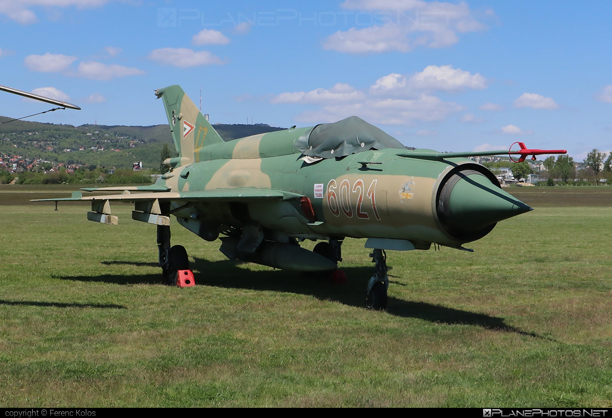 Mikoyan-Gurevich MiG-21bis - 6021 operated by Magyar Légierő (Hungarian Air Force) #hungarianairforce #magyarlegiero #mig #mig21 #mig21bis #mikoyangurevich