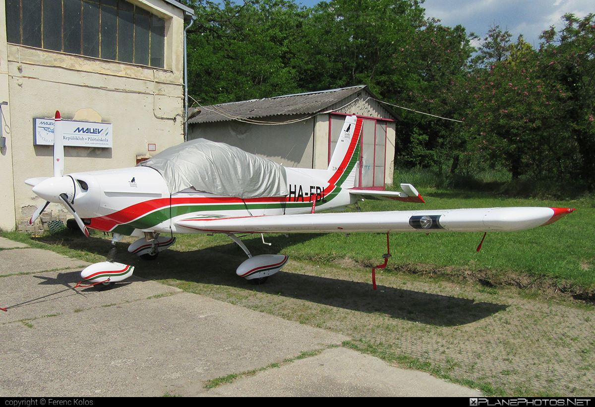 Zlin Z-143LSi - HA-FBL operated by Private operator #z143 #z143lsi #zlin #zlin143