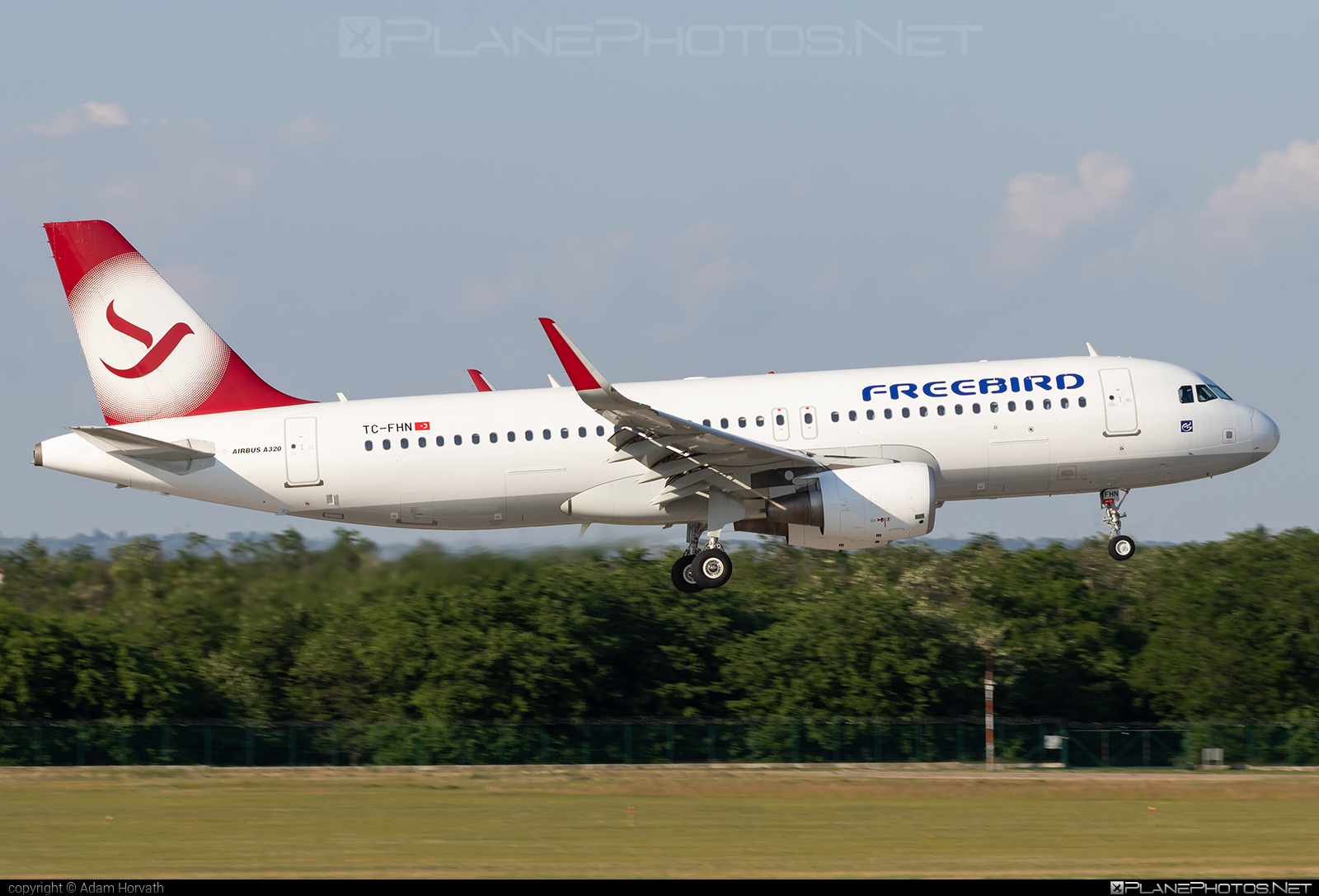 Airbus A320-214 - TC-FHN operated by Freebird Airlines #FreebirdAirlines #a320 #a320family #airbus #airbus320