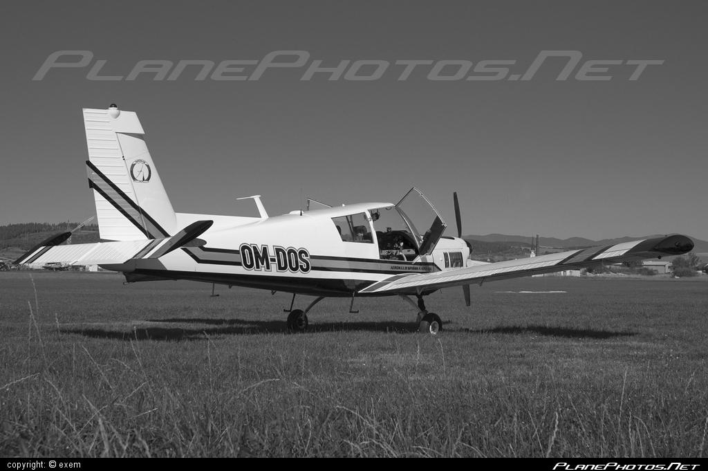 Zlin Z-43 - OM-DOS operated by Aeroklub Spišská Nová Ves #z43 #zlin #zlin43