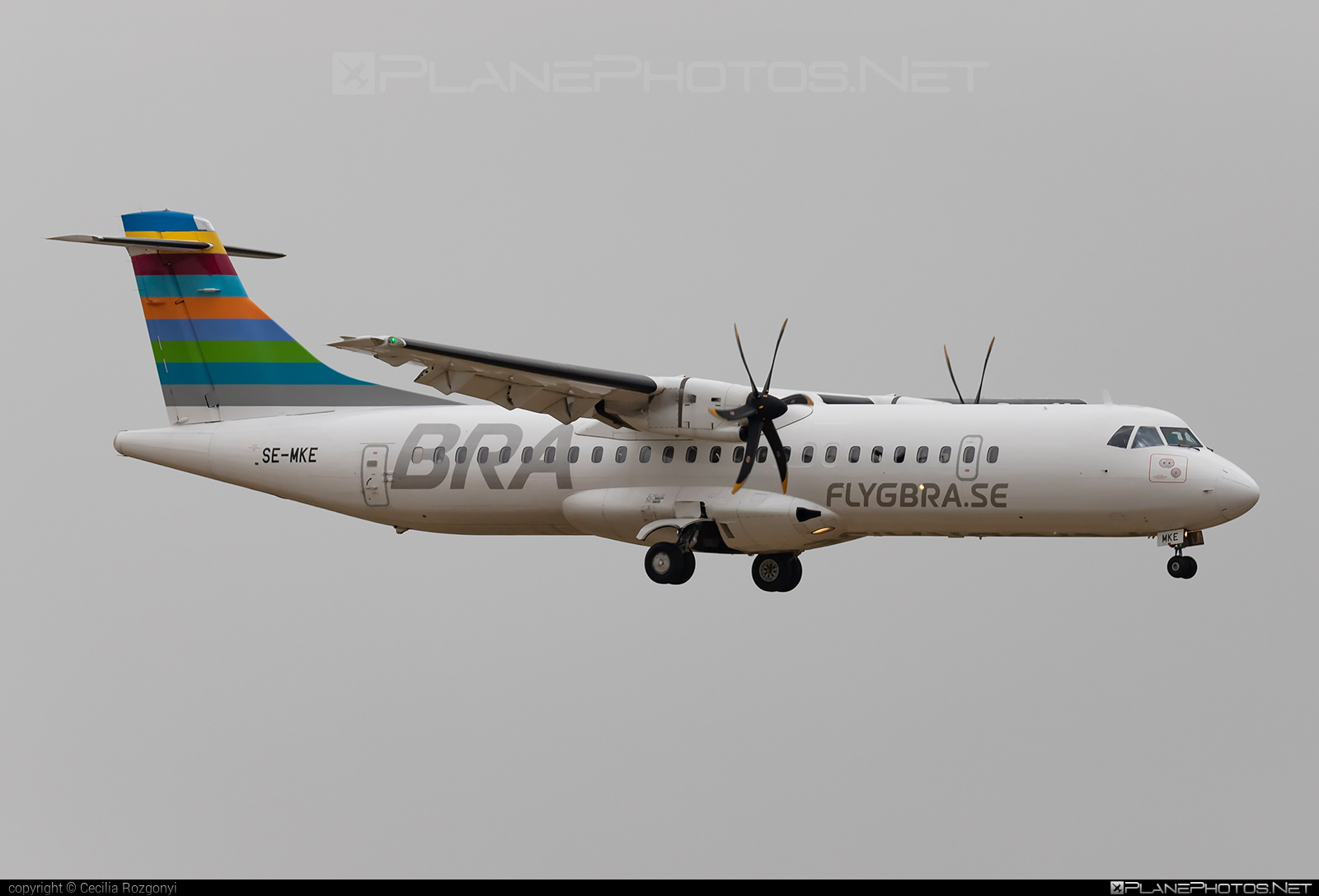 ATR 72-600 - SE-MKE operated by Braathens Regional Airlines #atr #atr72 #atr72600