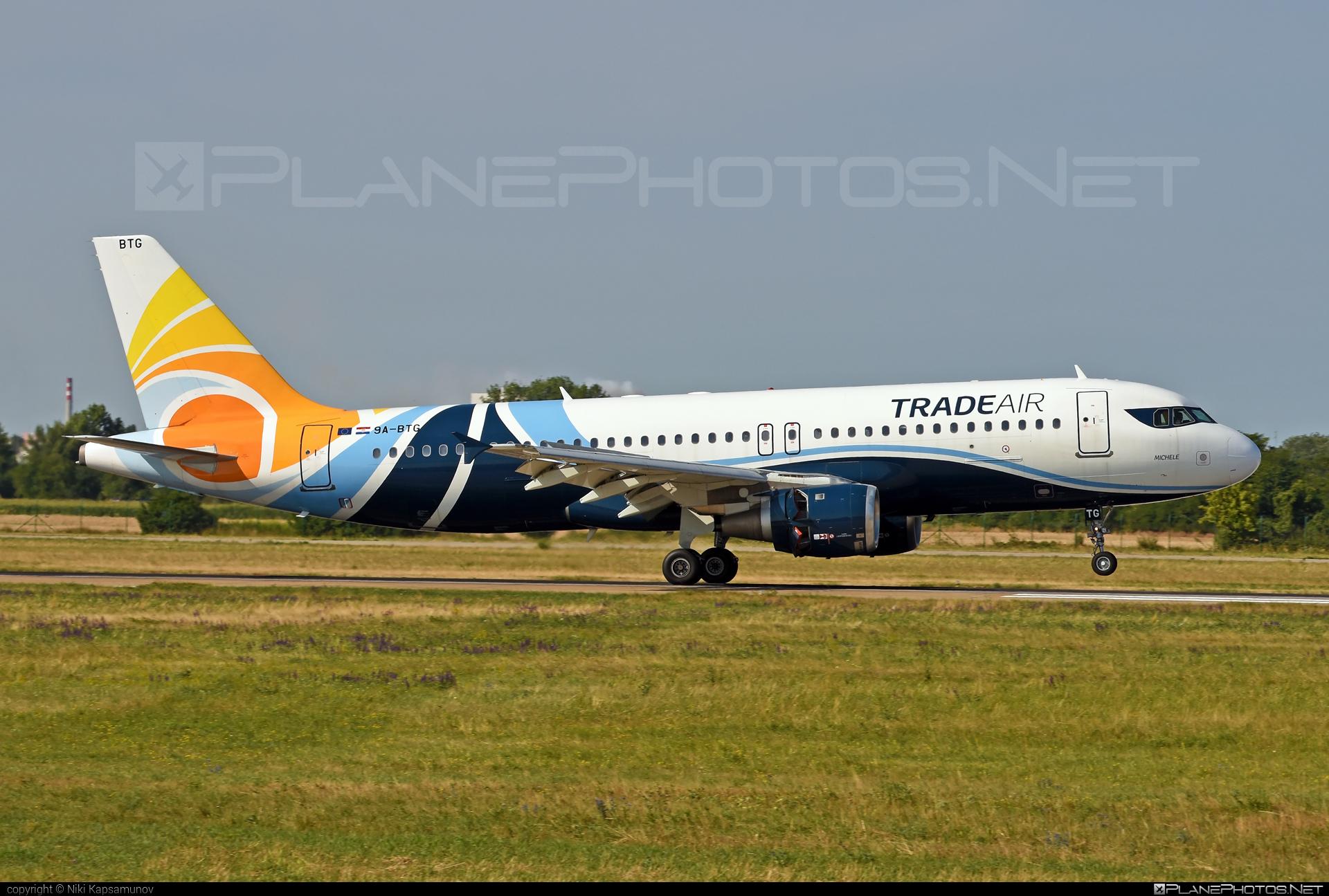 Airbus A320-212 - 9A-BTG operated by Trade Air #TradeAir #a320 #a320family #airbus #airbus320