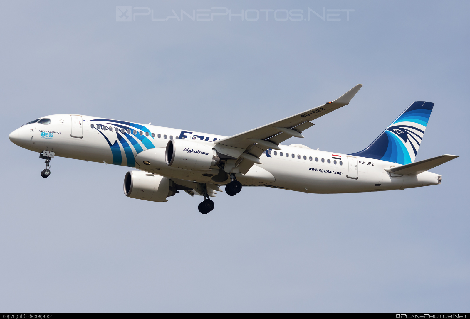 Airbus A220-300 - SU-GEZ operated by EgyptAir #a220300 #a220family #airbus #cs300 #cseries #cseries300
