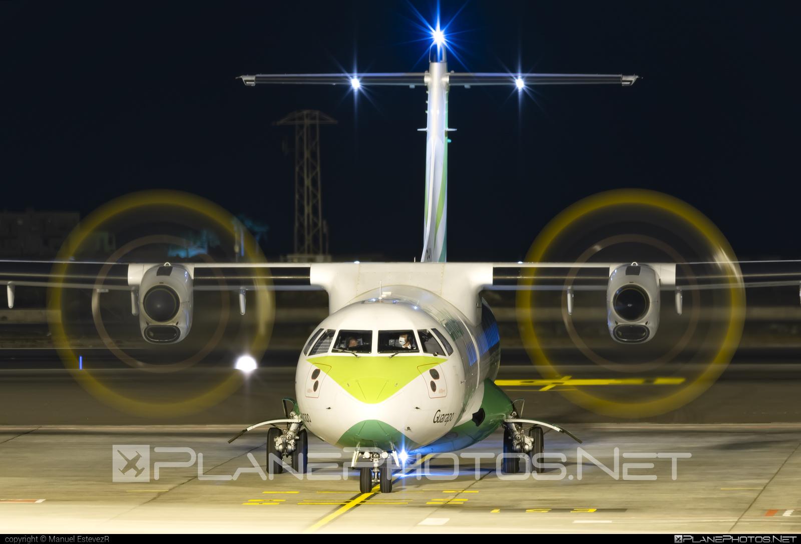 ATR 72-212A - EC-KYI operated by Binter Canarias #BinterCanarias #atr #atr72 #atr72212a #atr72500
