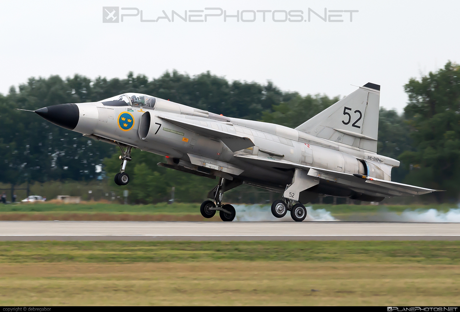 Saab AJSF 37 Viggen - SE-DXN operated by Swedish Air Force Historic Flight #ajsf37 #ajsf37viggen #kecskemetairshow2021 #saab #saab37 #saabajsf37 #saabajsf37viggen #saabviggen #viggen