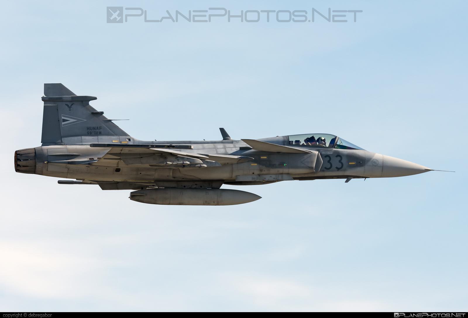 Saab JAS 39C Gripen - 33 operated by Magyar Légierő (Hungarian Air Force) #gripen #hungarianairforce #jas39 #jas39c #jas39gripen #kecskemetairshow2021 #magyarlegiero #saab