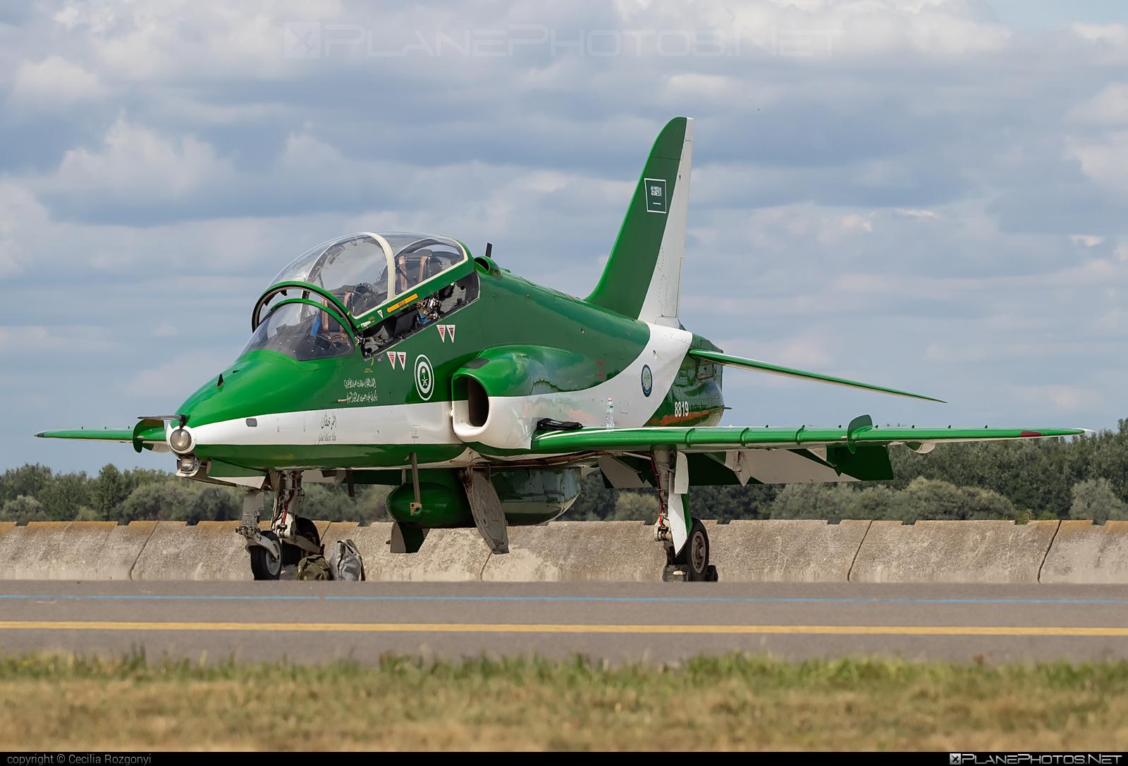 British Aerospace Hawk 65A - 8819 operated by Royal Saudi Air Force #RoyalSaudiAirForce #baehawk #britishaerospace #britishaerospacehawk #hawk65a #kecskemetairshow2021
