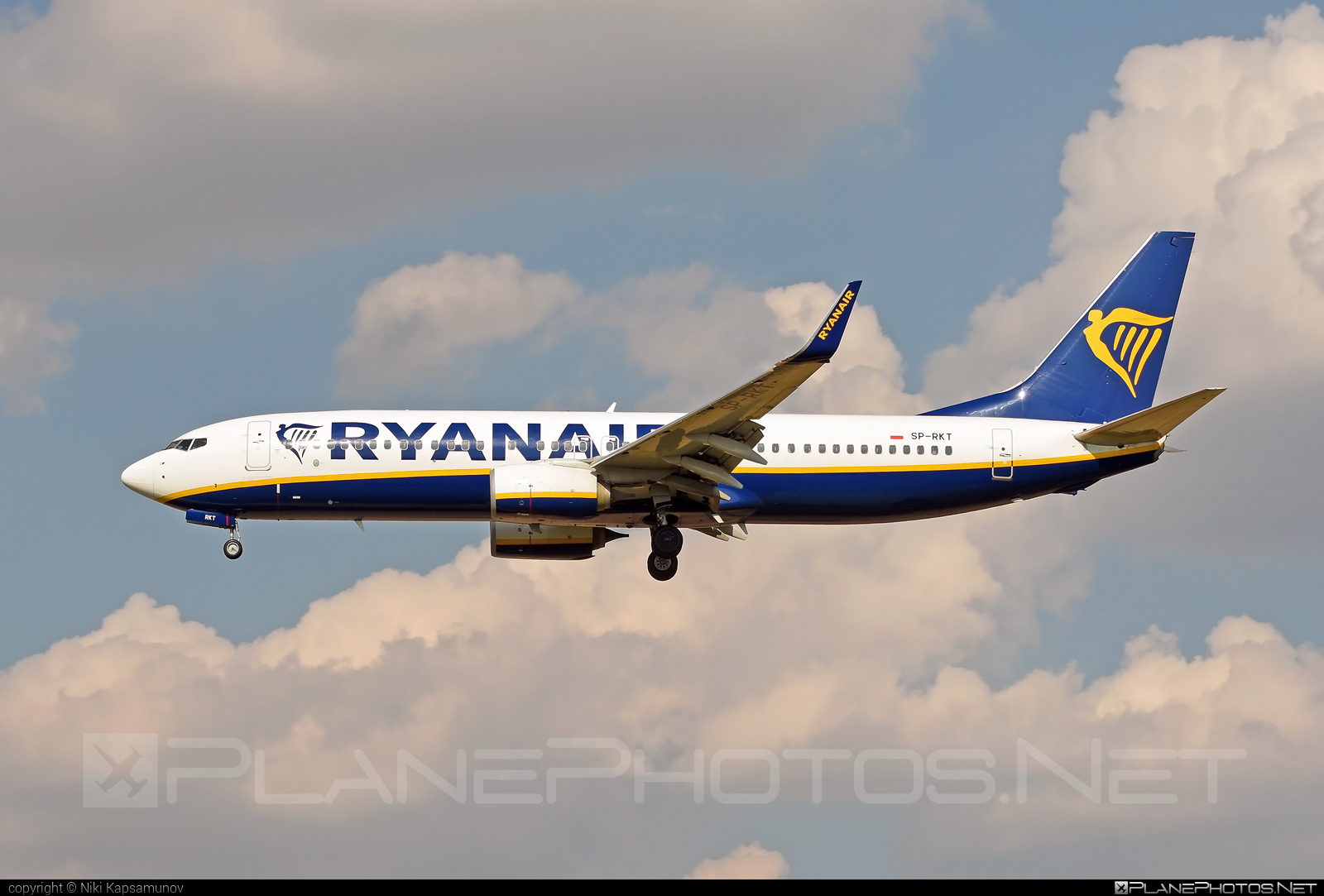 Boeing 737-800 - SP-RKT operated by Ryanair Sun #b737 #b737nextgen #b737ng #boeing #boeing737 #ryanair #ryanairsun