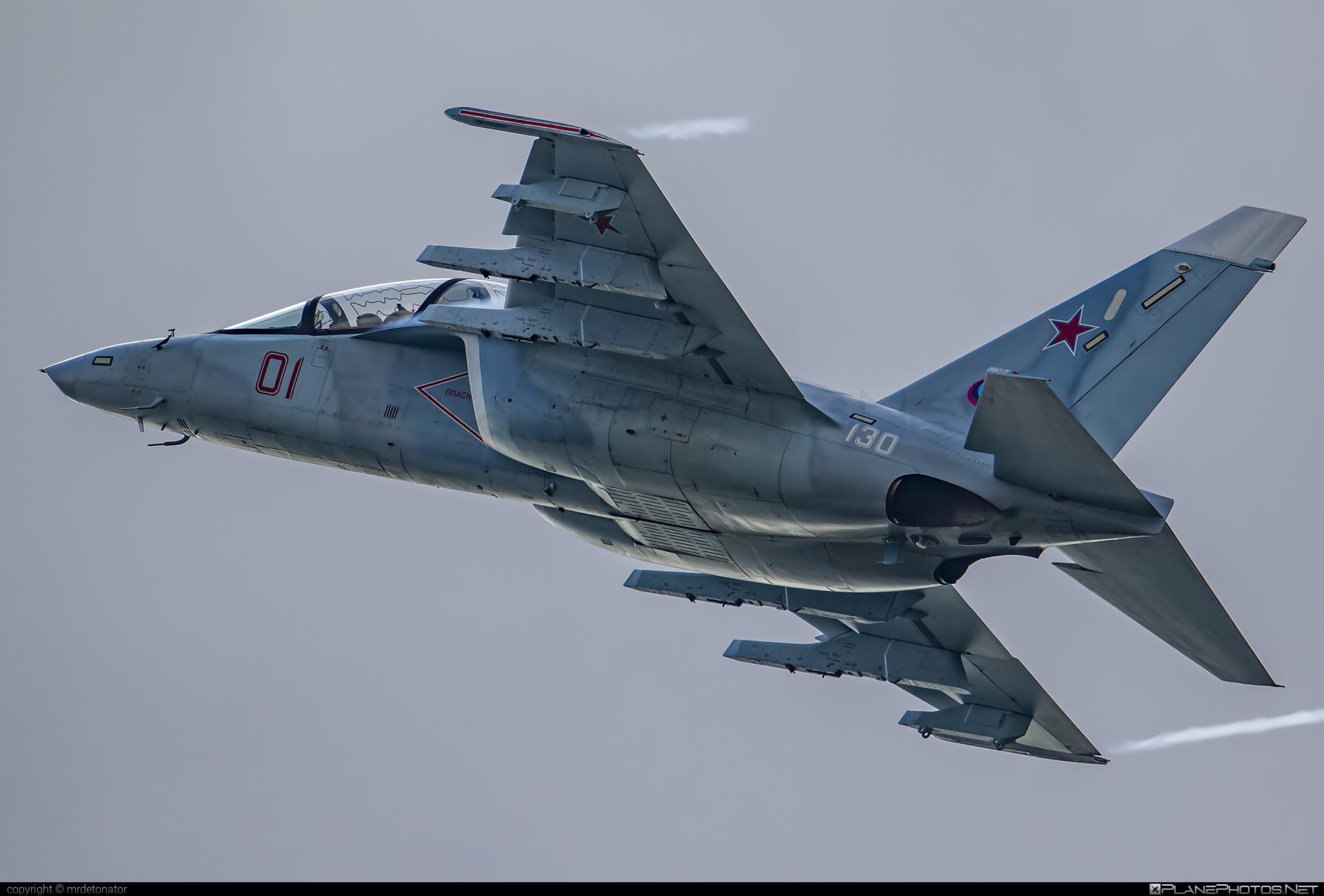 Yakovlev Yak-130 - 01 operated by Yakovlev Design Bureau #yak #yak130 #yakovlev