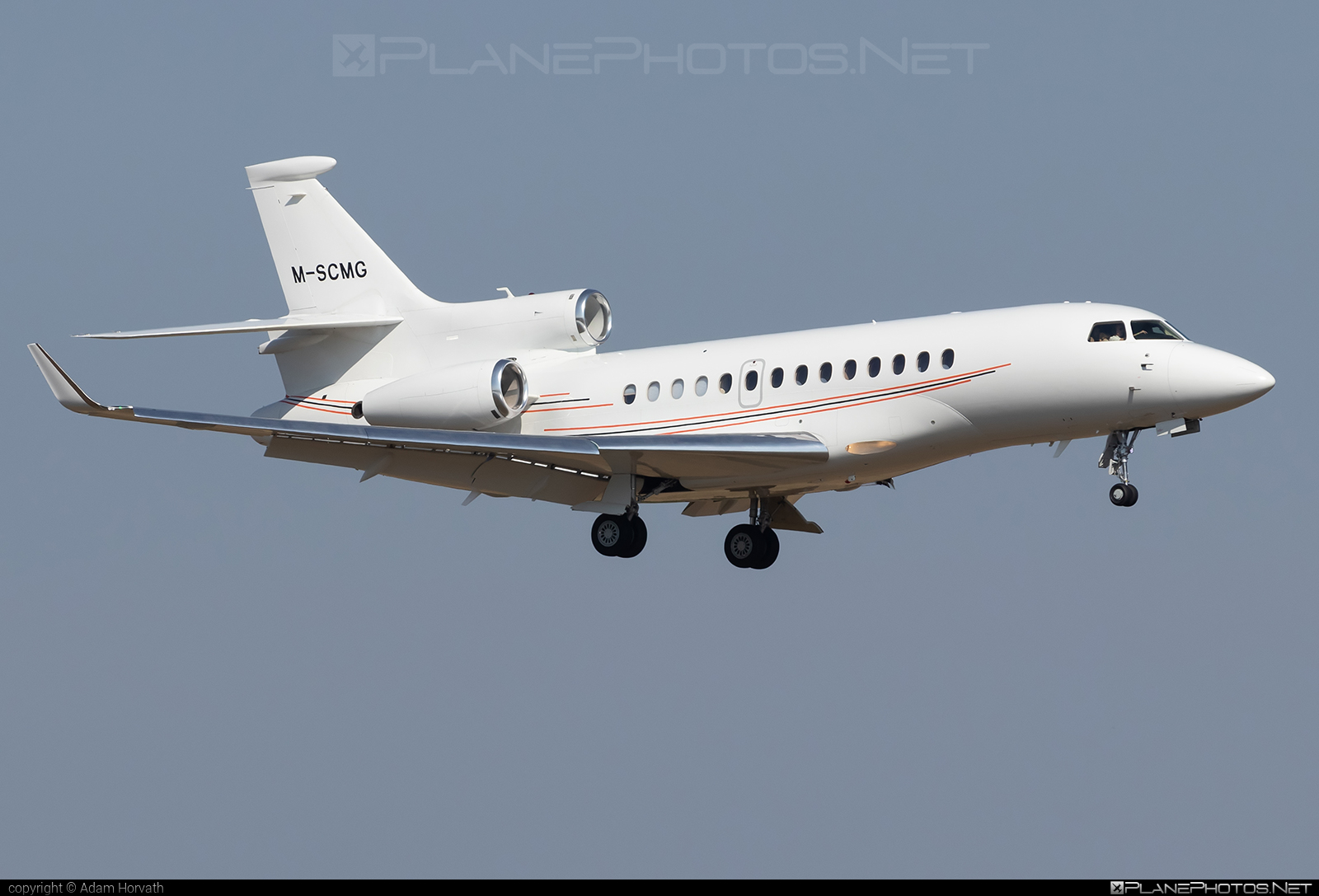 Dassault Falcon 7X - M-SCMG operated by Private operator #dassault #dassaultfalcon #dassaultfalcon7x #falcon7x