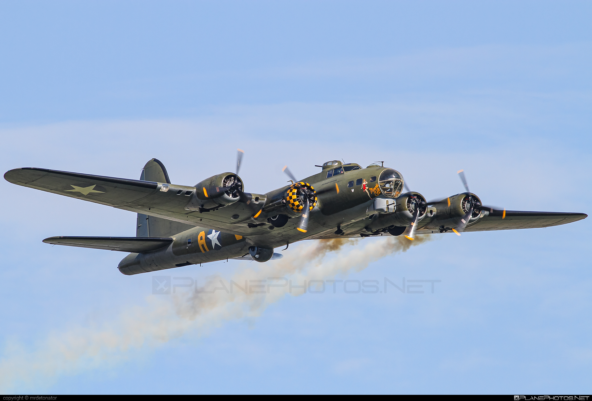 Boeing B-17G Flying Fortress - G-BEDF operated by Private operator #boeing