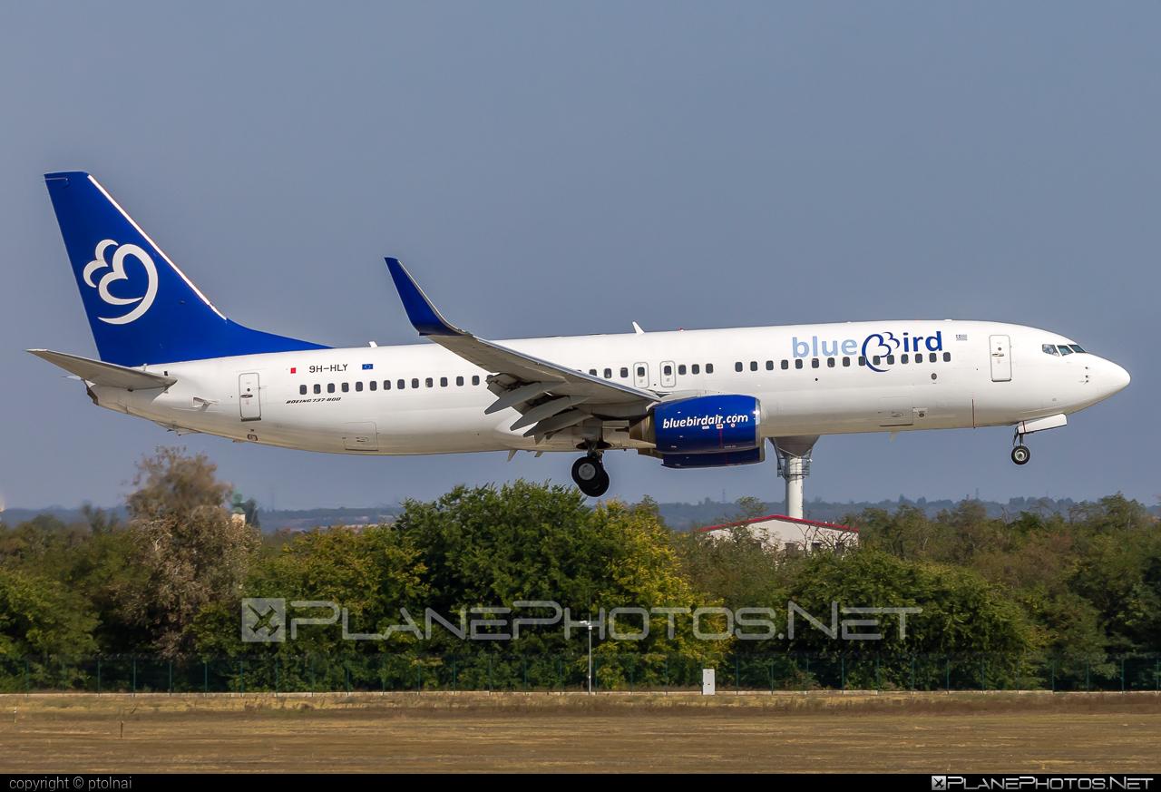 Boeing 737-800 - 9H-HLY operated by Bluebird Airways #9H-HLY #BluebirdAirways #FerencLisztIntl #b737 #b737nextgen #b737ng #boeing #boeing737