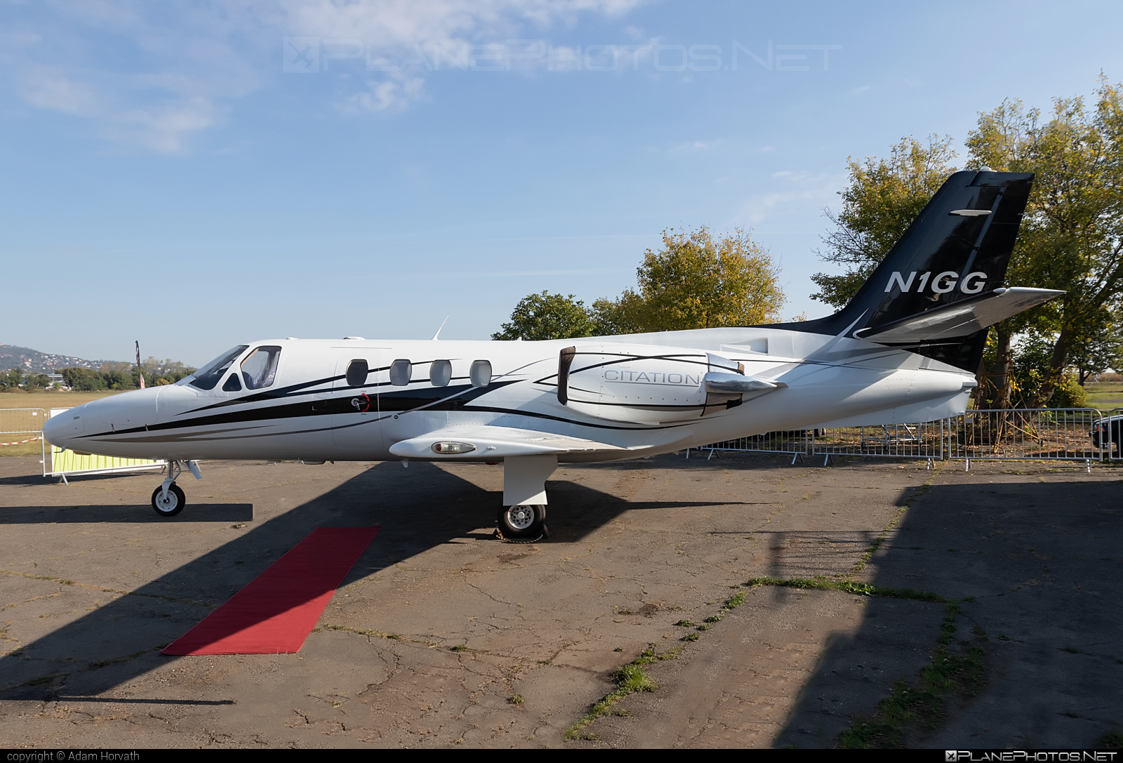 Cessna 500 Citation - N1GG operated by Private operator #cessna #cessna500 #cessna500citation #cessnacitation