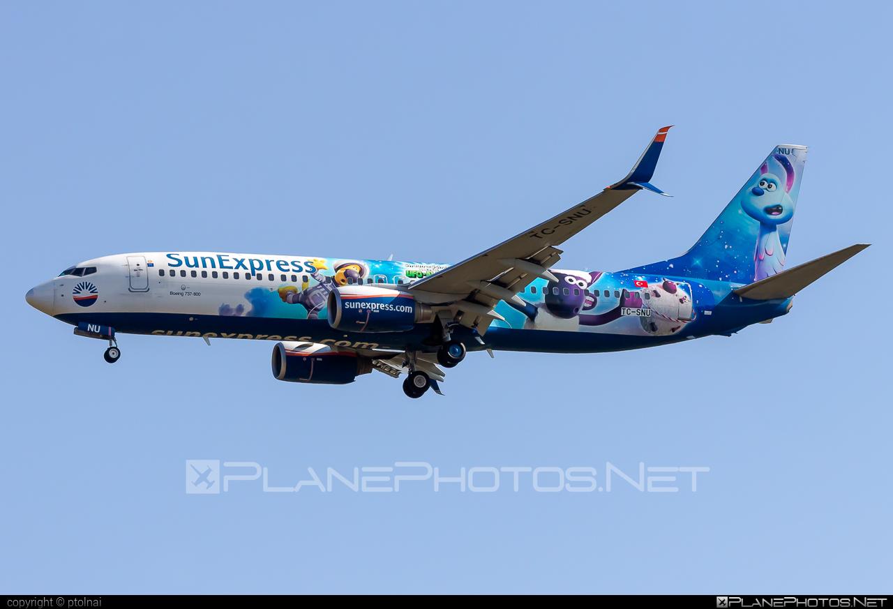 Boeing 737-800 - TC-SNU operated by SunExpress #b737 #b737nextgen #b737ng #boeing #boeing737 #sunexpress