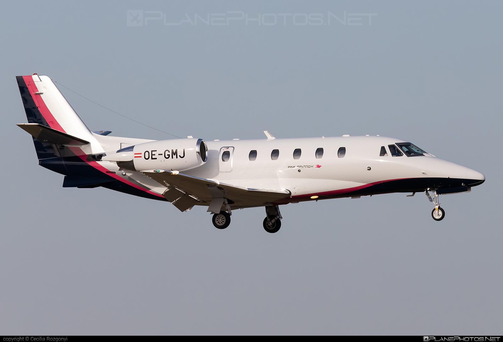 Cessna 560XL Citation XLS+ - OE-GMJ operated by Pink Sparrow #cessna #cessna560 #cessna560citation #cessna560xl #cessna560xlcitationxls #cessnacitation #citationxlsplus #pinksparrow