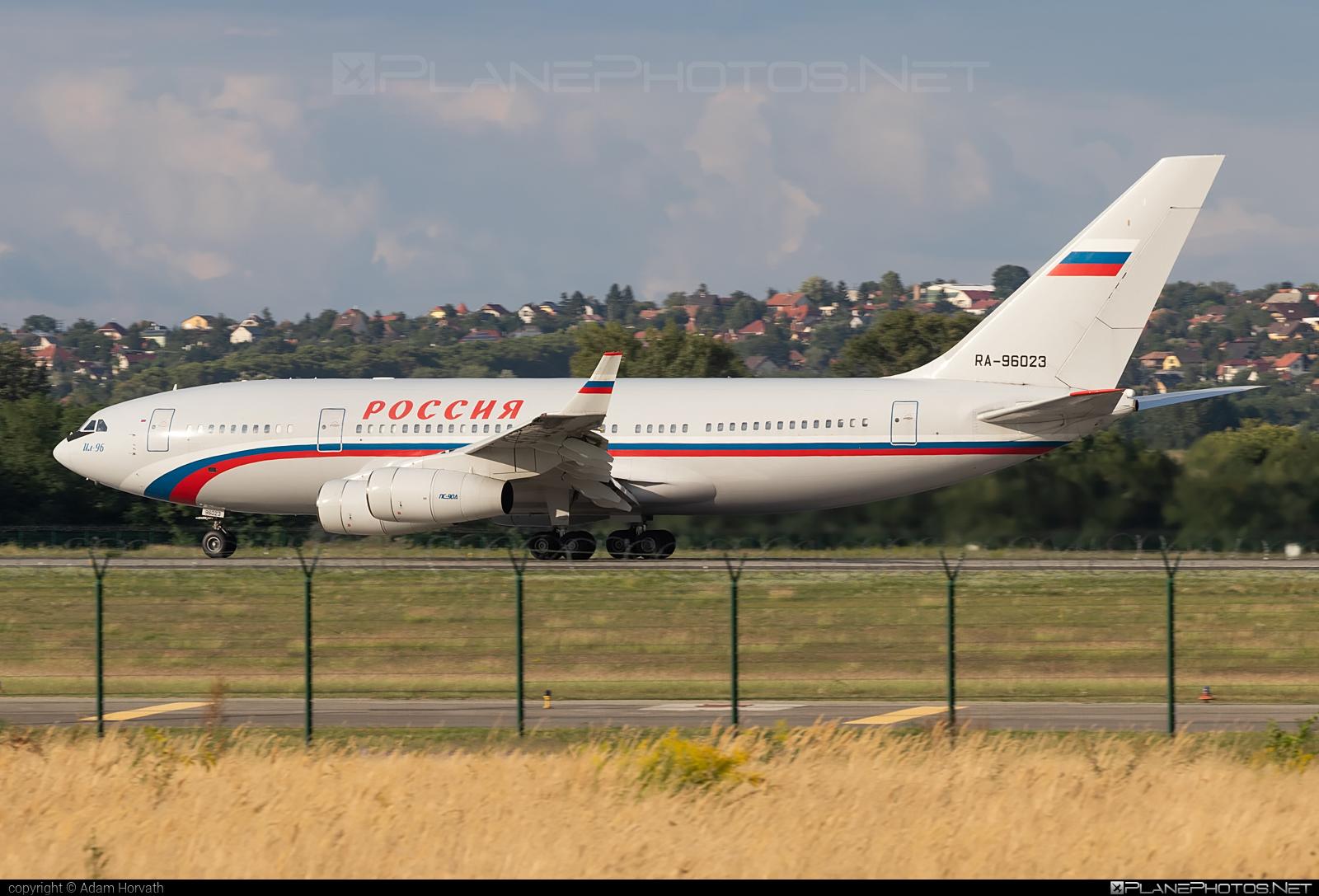 Ilyushin Il-96-300 - RA-96023 operated by Russia - Department of the Defense #il96 #il96300 #ilyushin