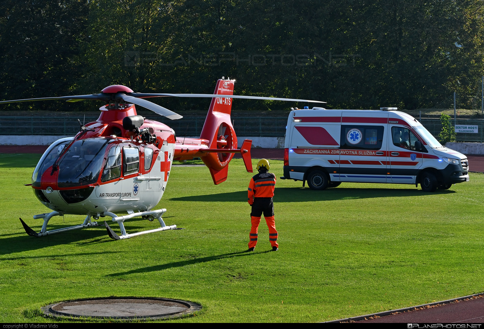 Eurocopter EC135 P2+ - OM-ATS operated by Air Transport Europe #airtransporteurope #ec135 #ec135p2 #ec135p2plus #eurocopter