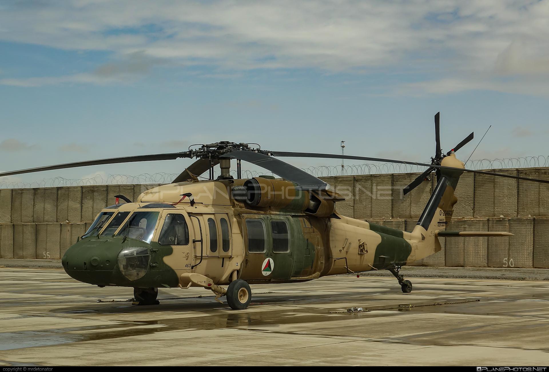 Sikorsky UH-60A Black Hawk - 0-23463 operated by Afghan Air Force #afghanairforce #blackhawk #sikorsky #uh60 #uh60a #uh60blackhawk