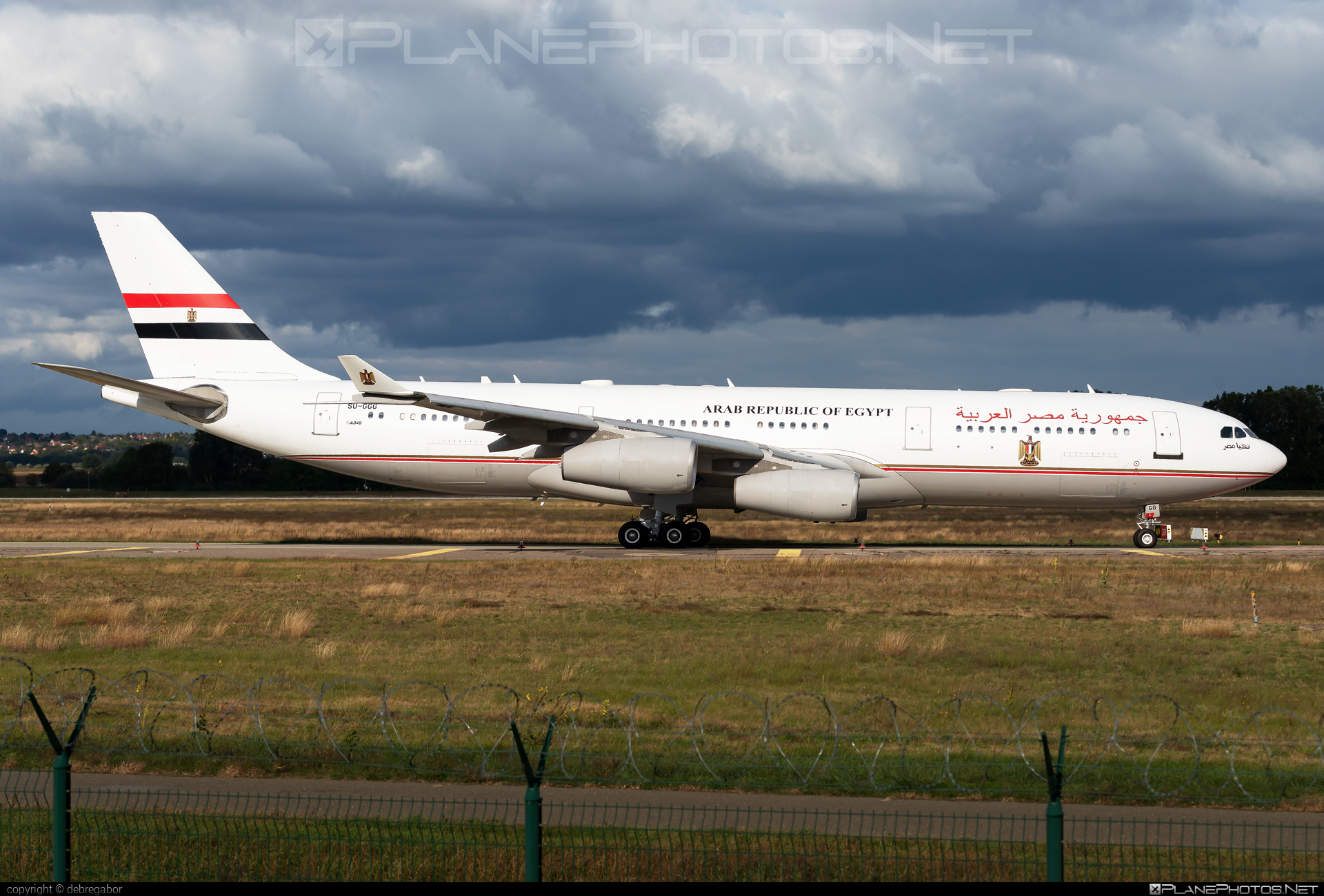 Airbus A340-211 - SU-GGG operated by Egypt - Government #a340 #a340family #airbus #airbus340