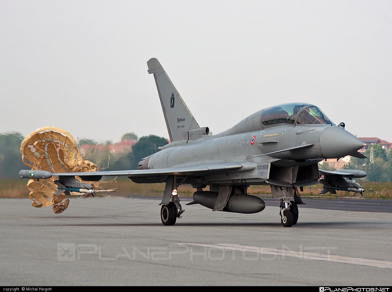 Eurofighter Typhoon T - MM55096 operated by Aeronautica Militare (Italian Air Force) #eurofighter #typhoon
