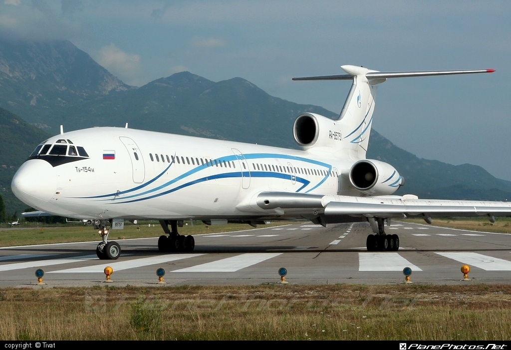 Tupolev Tu-154M - RA-85751 operated by Gazpromavia #tu154 #tu154m #tupolev