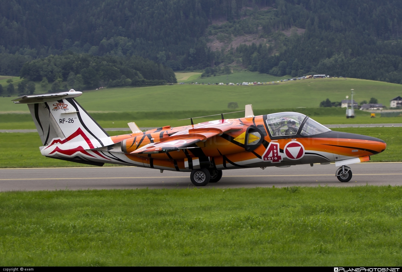 Saab 105OE - RF-26 operated by Österreichische Luftstreitkräfte (Austrian Air Force) #austrianairforce #saab
