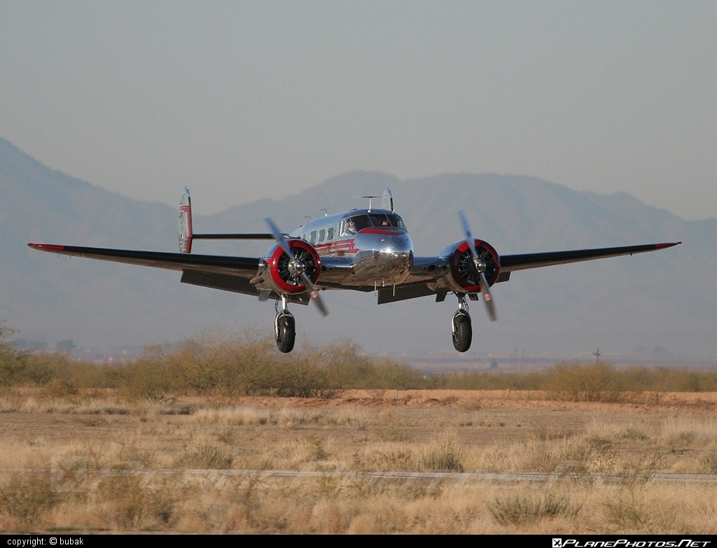 Beechcraft D18S - N2913B operated by Private operator #beechcraft