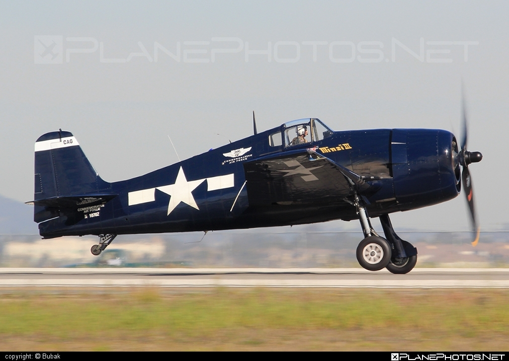 Grumman F6F-5 Hellcat - N1078Z operated by Private operator #grumman