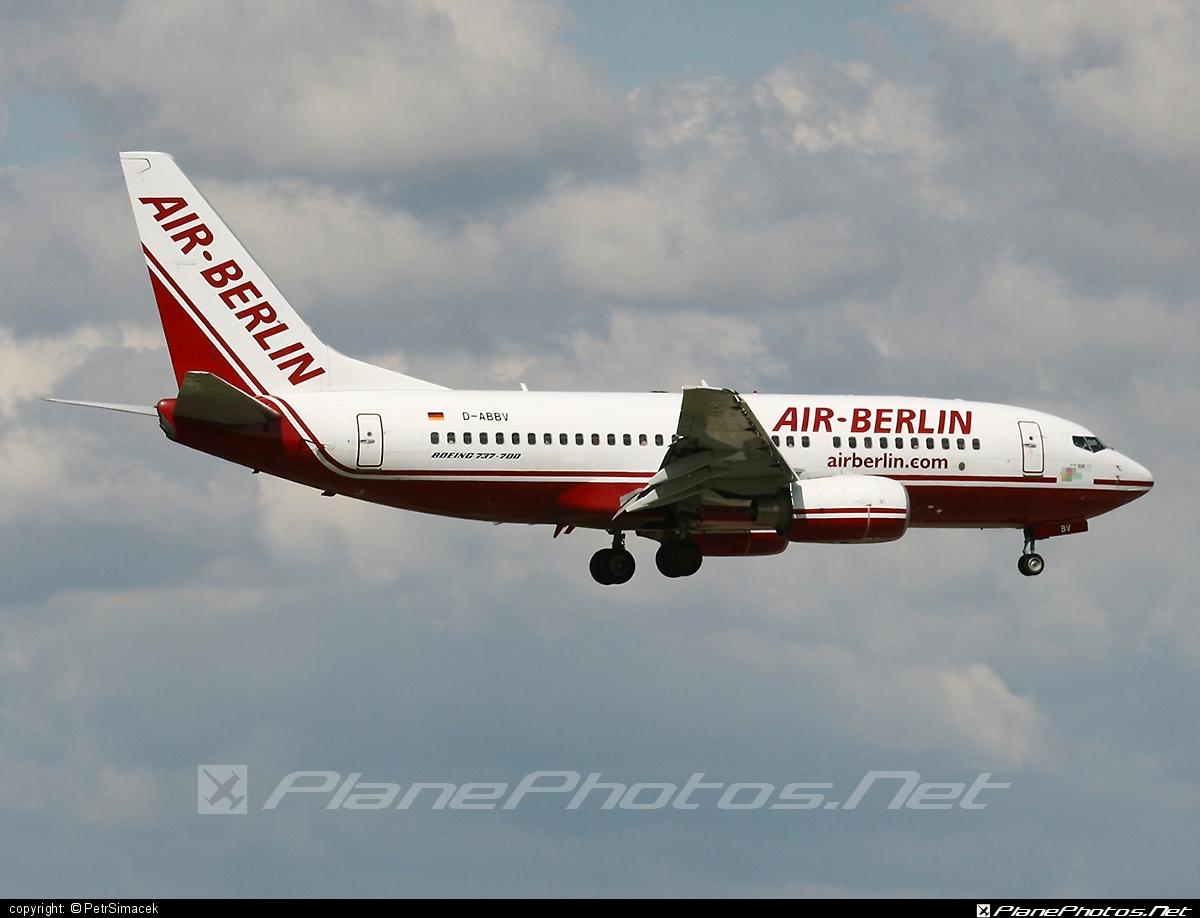Boeing 737-700 - D-ABBV operated by Air Berlin #airberlin #b737 #b737nextgen #b737ng #boeing #boeing737