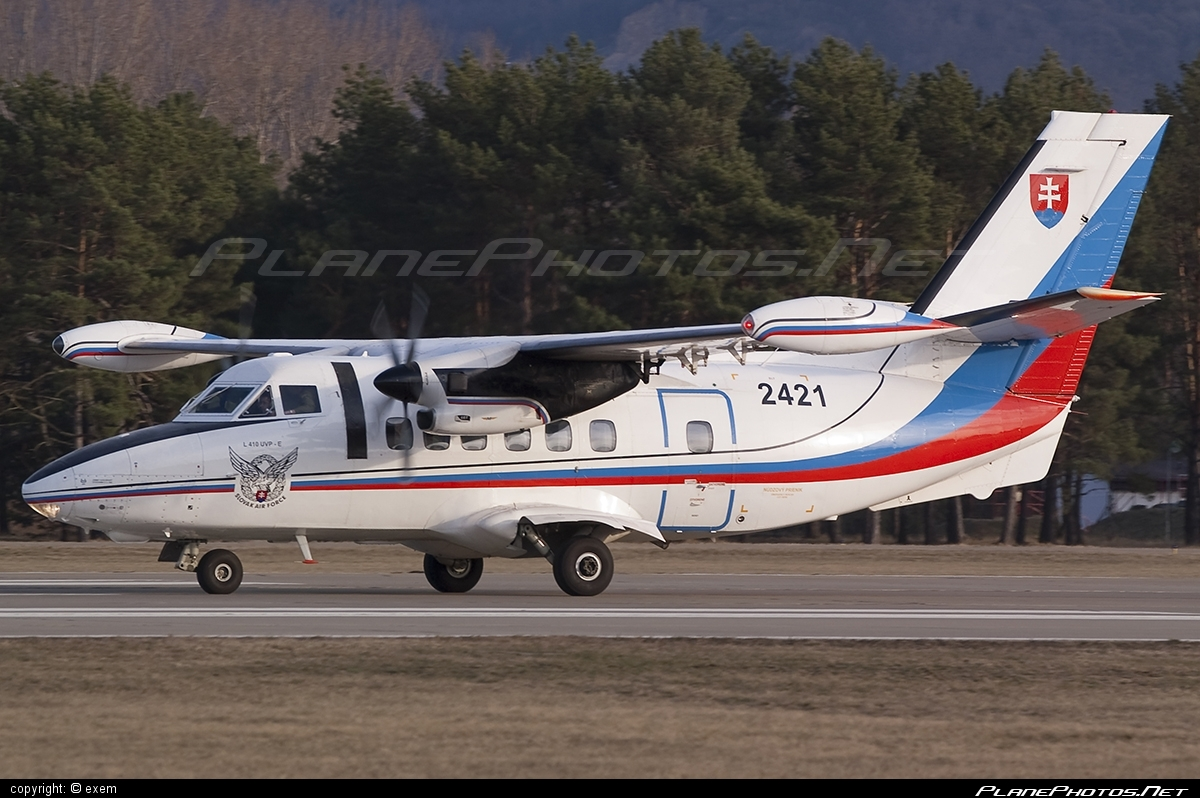 Let L-410UVP-E Turbolet - 2421 operated by Vzdušné sily OS SR (Slovak Air Force) #let #slovakairforce #vzdusnesilyossr