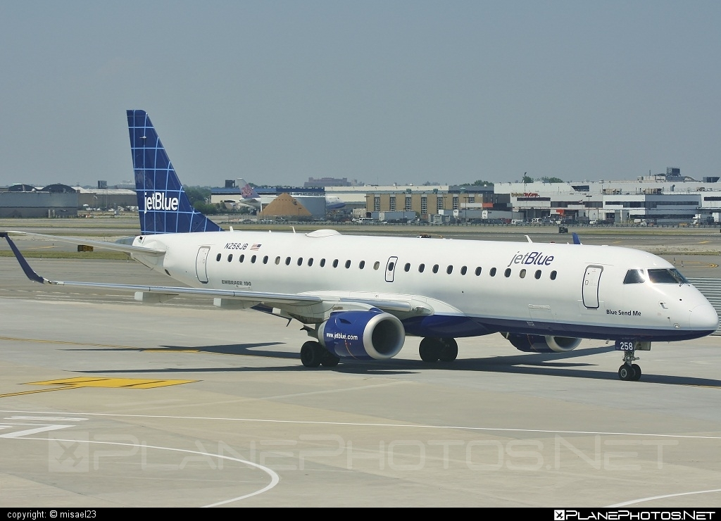 Embraer 190-100IGW - N258JB operated by jetBlue Airways #e190 #embraer #embraer190 #embraer190igw