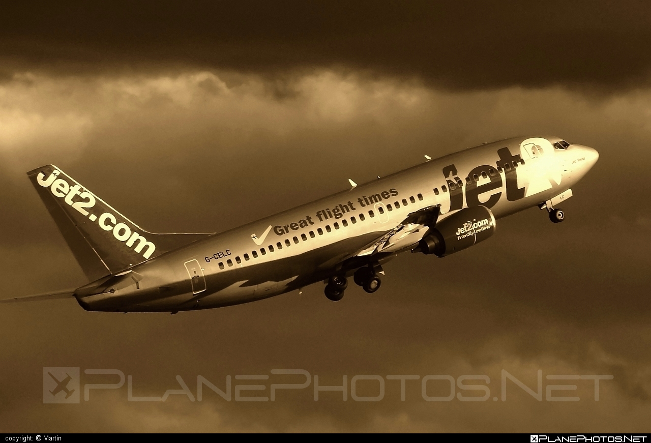Jet2 Boeing 737-300 - G-CELC #b737 #boeing #jet2
