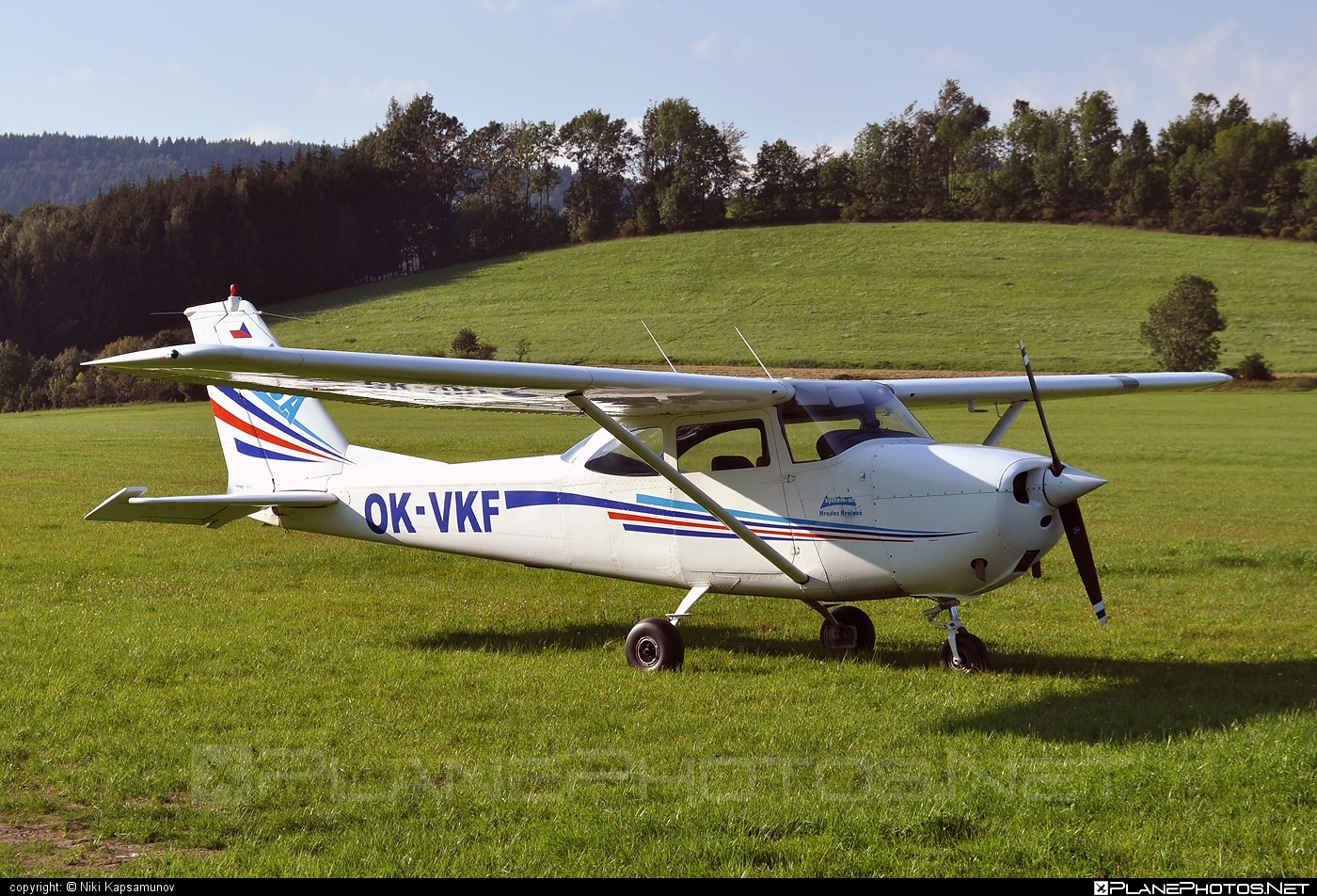 Reims F172G Skyhawk - OK-VKF operated by UpSolution #reims
