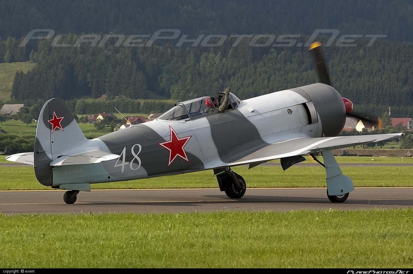 Yakovlev Yak-3U - RA-3482K operated by Private operator #airpower #airpower2009 #yak #yak3 #yak3u #yakovlev