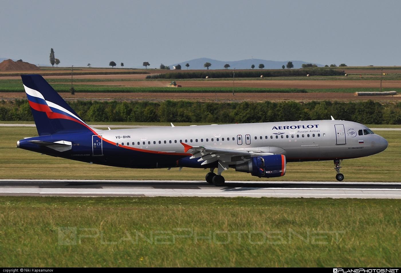 Airbus A320-214 - VQ-BHN operated by Aeroflot #a320 #a320family #aeroflot #airbus #airbus320