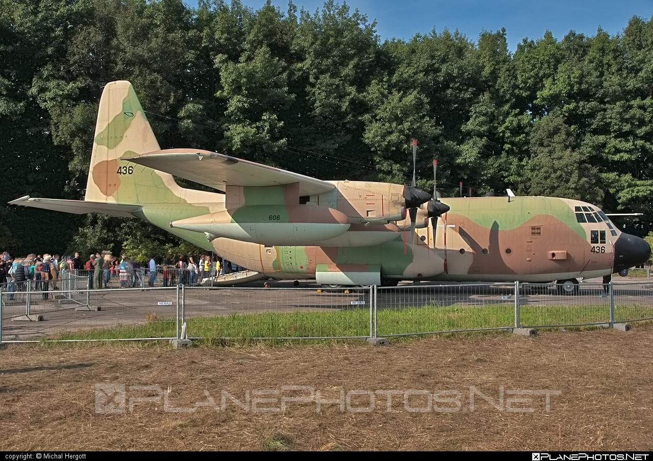 Lockheed KC-130H Karnaf - 436 operated by Zroa HaAvir VeHahalal (Israeli Air Force) #lockheed #natodays #natodays2011